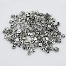Bracelet Beads 20 Pcs 8-10 mm Size Mixed Random Pandora Charms Fashion Jewelry