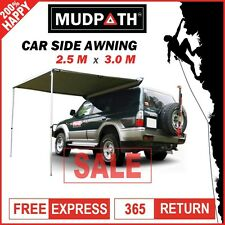 OzEagle Car Side Awning Roof Top Tent  2.5M x 3M Camper Trailer Camping 4WD 4X4