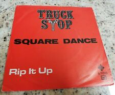 Truck stop square dance rip it up 45 giri usato France press rare