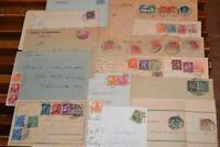 36 Briefe Deutsches Reich ca. 1900-1923 mit vielen besseren Frankaturen !!