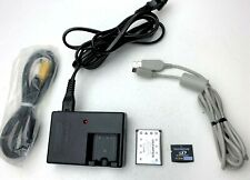Genuine Olympus Accessory Bundle - Battery, Charger LI-40C , Cables, 2GB SD Card