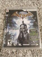 Batman: Arkham Asylum (Sony PlayStation 3, 2009) - Complete