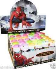 LOT DE 36 FLACON BULLE SPIDERMAN BULLES DE SAVON SPIDERMAN MARVEL