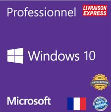 🔑Windows 10 Pro   Licence Français   Clé d'activation originaleEnvoi en10s🔑