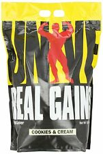 Cookies N Cream Universal Real Gains 10lb Bag Mass Weight Gainer 06/2022EXP
