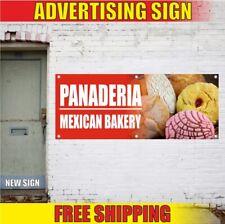 Panaderia Advertising Banner Vinyl Sign Flag Mexican Bakery Restaurant Bar Cafe