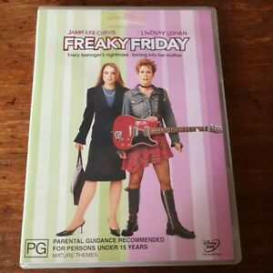 Freaky Friday DVD R4 Like New! FREE POST