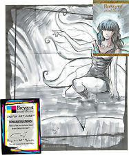 Breygent World of Fantasy Sketch Z-Card by Mary Jane Pajaron