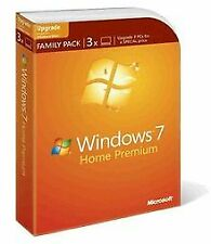 Windows 7 Home Premium Upgrade Family Pack (3 Lizenz... | Software | Zustand gut