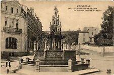 CPA CLERMONT-FERRAND La Fontaine Jacques d'Amboise (460089)