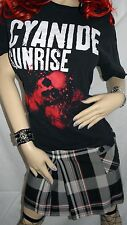 Cyanide Sunrise Skulls Large Shirt Metal Band