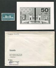 BUND FOTO-ESSAY 625 OLYMPIA MÜNCHEN 1972 OLYMPICS PHOTO-ESSAY PROOF RARE!! e560