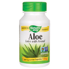 Nature's Way Aloe Latex with Fennel 100 Veg Caps