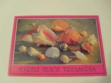 Myrtle Beach, South Carolina, USA, Postcard, Shells