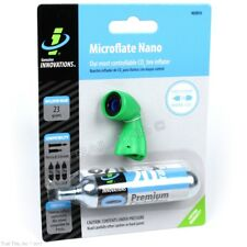 Genuine Innovations Microflate Nano Bike CO2 Compact Inflator + 20g Cartridge