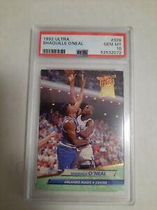 92-93 Fleer Ultra Shaquille O'Neal Rookie #328 PSA 10 Gem Mint Shaq Oneal RC QTY