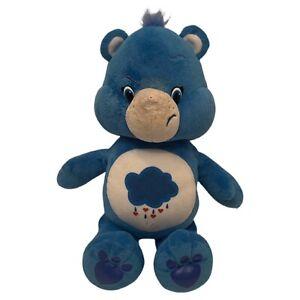 "Care Bears Plush Blue Grumpy Bear Just Play Rain Cloud 13"" SAMPLE NOT FOR RESALE"