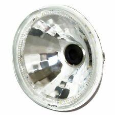 """Hella 7"""" Headlight Sealed Beam + LED Light Ring 12V For Trucks & Jeeps"""