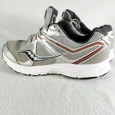 Saucony Mens Cohesion 11 Running Shoes Gray Laced Sneakers S20421-5 Size 10.5W