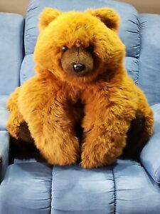 Huge Brown Bear Plush Toy - Excellent condition