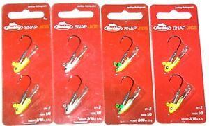 Berkley 3/16 Snap Jigs (Lot of 4-SJ11-2/pk)
