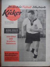 KICKER 30 - 28.7. 1958 Horst Szymaniak Didi - Alle OL-Aufsteiger mit Bild Ulm 46
