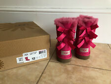 Girls Ugg Pink Bailey boots UK Size 11 Worn Once