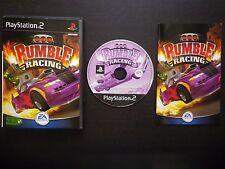RUMBLE RACING : JEU Sony PLAYSTATION 2 PS2 (EA Games COMPLET envoi suivi)