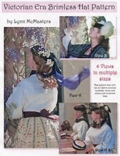 Ladies Victorian Brimless Hat in 4 Views by Lynn McMasters Sewing Pattern #56