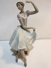 "Large Lladro #5275 ""Weary Ballerina"" Dancer MINT Condition"