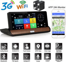 """7"""" Gps Navigation Car Truck DVR Camera Android Bluetooth Parking Monitor 3G+Wifi"""
