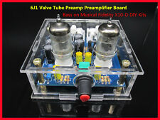 6J1 Valve Tube Preamp Preamplifier Board Bass on Musical Fidelity X10-D DIY Kits