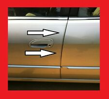 14 Ft - CLEAR Car Door Edge Guard Moulding Trim DIY Protector Strip 2/4 Door