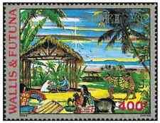 Timbre Religion Noel Wallis et Futuna PA164 ** lot 8623