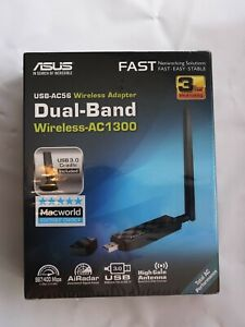 ASUS USB-AC56 Dual Band Wireless-AC1300 Wireless Wi-Fi USB Adapter