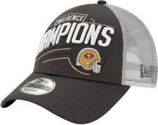 San Francisco 49ers Cap Conference Champions Cap New Era 9forty Snapback Cap