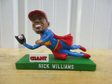 VINTAGE LEHIGH VALLEY IRON PIGS NICK WILLIAMS #5 BOBBLEHEAD GIANT SGA PHILLIES