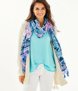 LILLY PULITZER Resort Scarf - Party In Paradise