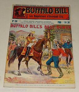 Fascicule BUFFALO BILL N°130 : Les REGULATEURS d'OVERLAND City - Colonel CODY