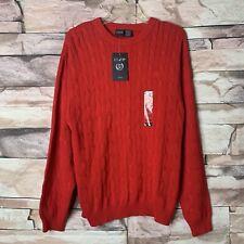 IZOD Boys Youth Red Crew-neck Sweater, Size XL (18/20) NWT
