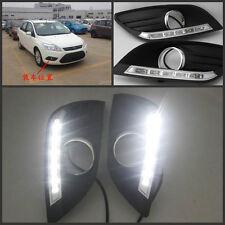 Car LED DRL DayTime Running Light DRL LED Lamp Kit For Ford Focus 2009~2012
