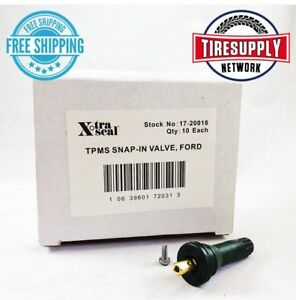 17-20018 Xtra Seal TPMS Snap-in Valve 31 Inc (10 Pieces per Box) FORD
