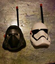 Disney Star Wars Walkie Talkies Set Static Free Extended Range