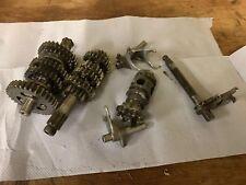 Kawasaki KX85 KX 85 2004 Complete Gear Box Transmission Gear Selector Etc