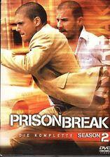 Prison Break - Die komplette Season 2 (6 DVDs)  FSK 16  neuwertiger Zustand