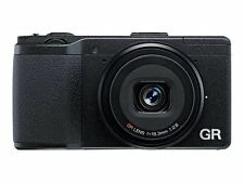 Ricoh GR II 16.2MP Digital Camera - Black