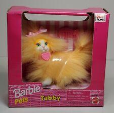 BARBIE PETS ORANGE TABBY CAT FIGURE MATTEL MISB 1998 VERY RARE