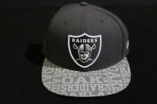 New 2014 Oakland Raiders New Era NFL Draft Graphic 59Fifty Hat 7 3/8""