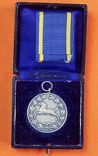 German Germany WWI WW1 Hannover Silver Medal Order Badge w/ Box