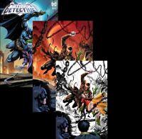 DETECTIVE COMICS #1027 Tyler Kirkham VARIANT SET Covers A,B,C In Hand NM